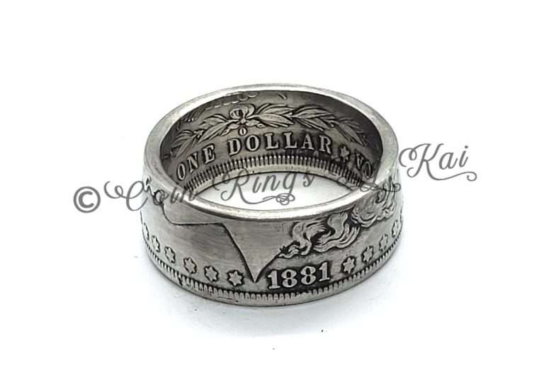 Coin Rings Handmade In US